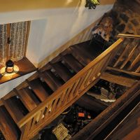 la scala di legno-wooden stair