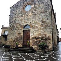 The Church of Bibbona in Tuscany