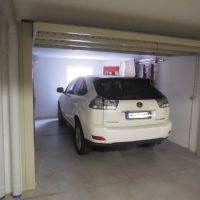 il garage dell'appartamento