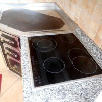 La cucina e i fornelli