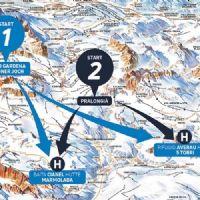 Skiing safari transfers