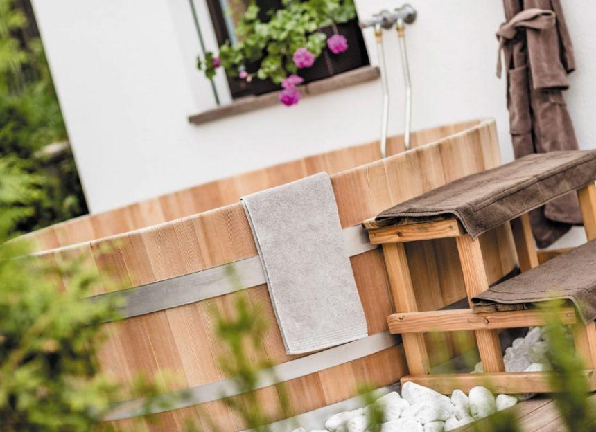 wooden tub or zuber