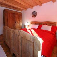Tabià double bedroom