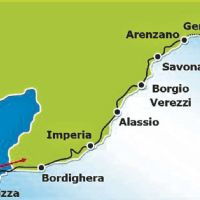 FRANCE TO ITALY BY BIKE