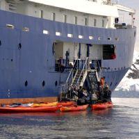 IL KAYAK -operazioni di sbarco/imbarco